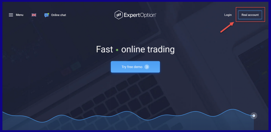 ExpertOption Open Account
