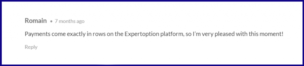 Reviews from Forums about ExpertOption 5