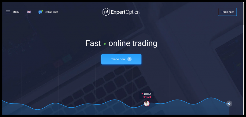ExpertOption trading app