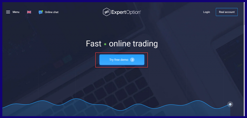 ExpertOption or OlympTrade demo account