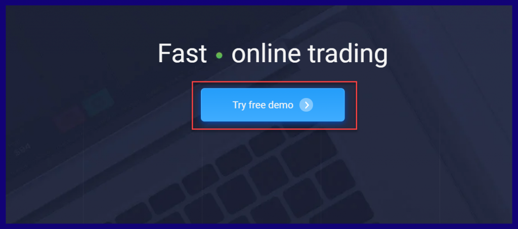 Opening demo account on ExpertOption or IqOption